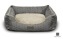 Modern Chic Trellis Dog Bed By Trendy Pet