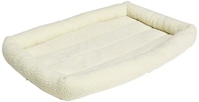 Amazon Basic Padded Pet Bolster Bed