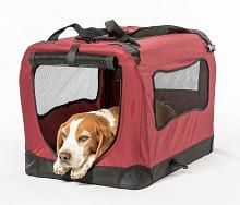 2PET Foldable Dog Crate - Soft, Easy to Fold & Carry Dog Crate