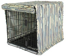 Designer Dog Crate Covers