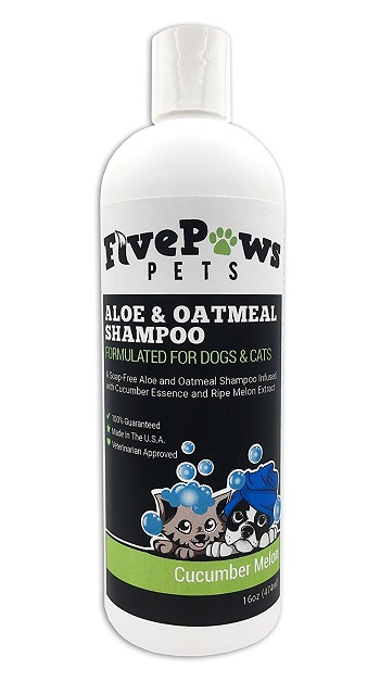 best puppy shampoo for itchy skin