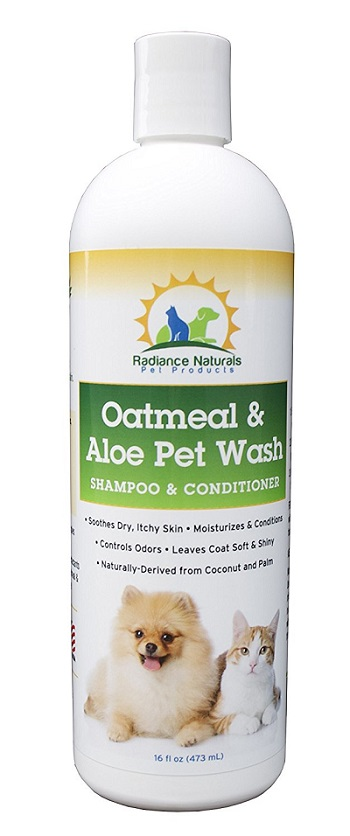 dog shampoo for dry flaky skin