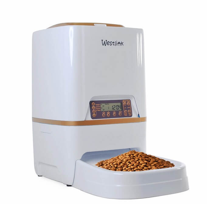 WESTLINK Timer Programmable Automatic Pet Feeder